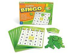 Bingo Games, Math Games, Fraction Bingo, Alphabet Bingo, Teacher Magazine, Leed Certification, Lakeshore Learning, Montessori Math, Calling Cards
