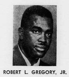 Robert L. Gregory, principal of Kirkpatrick Elementary School in Fort Worth. Robert L. Gregory, Jr., the association president,  signed the dissolution papers for the Teachers' State Association of Texas on December 30, 1966