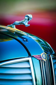 1937 Dodge Hood Ornament - Emblem - Jill Reger - Photographic prints for sale