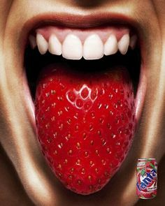 Funny pictures: Ads & Signs , Strawberry Fanta commercials, Advertising by Platinum, FMD Ag. Creative Advertising, Print Advertising, Advertising Campaign, Print Ads, Marketing And Advertising, Advertising Ideas, Funny Advertising, Product Advertising, Marketing Poster