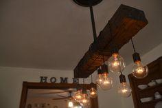 OMSCHRIJVING: Combineren zowel hout als staal, is er geen plaats dat dit licht kan niet worden gebruikt. De noodlijdende houten balk die u in de