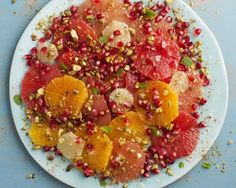 Moroccan citrus salad, no reason to say so long to summer!