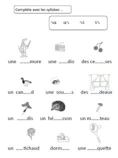 French Language Lessons, French Language Learning, French Alphabet, French Worksheets, Cursive, Teaching French, Learn French, Phonics, Montessori