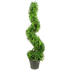 Found it at Joss & Main - Artificial Boxwood Leave Spiral Topiary Plant in Pot