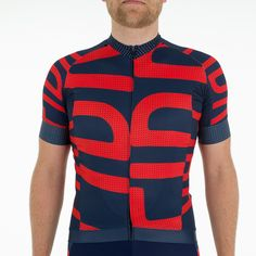 Race fit performance jersey.  Design: High-stretch (bi-elastic) bioceramic fabric. High breathability. Full length covered zipper. Run-proof back. Silicone Lycra hem on front, reflective silicone elastic on back. Carbon mesh side panels. 3 open pockets with eyelet for iPhone cable. UV Protection: 50+ Reflective cuffs...