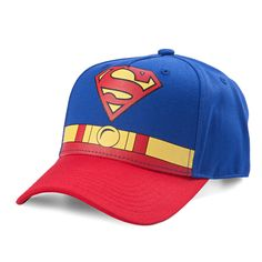 DC Comics Superman Torso Curved Bill Youth Snapback Baseball Cap  Superman   Gifts  collectibles 490312efa2ce