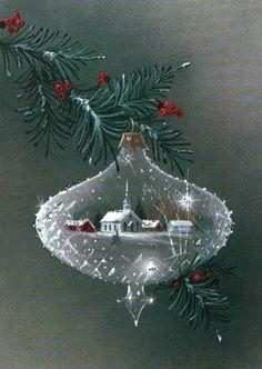Scene Inside an Ornament | Flickr: partage de photos!