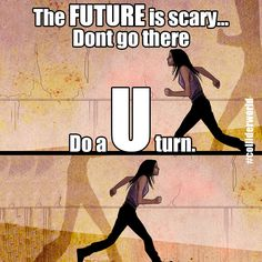 U turn #colliderworld #future #scifi #timetravel #scary #comics