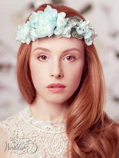Wedding Hair Accessories /Floral Wedding Headpiece by TheWeddie, €120.00