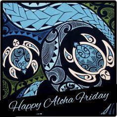 Fabric, Hawaiian Honu Sea Turtle Swirl, Polynesian Tapa Tattoo Designs, Blue and Green, By the Yard Polynesian Designs, Polynesian Art, Hawaiian Designs, Hawaiian Art, Hawaiian Quilts, Polynesian Tattoos, Filipino Tattoos, Hawaiianisches Tattoo, Cover Tattoo