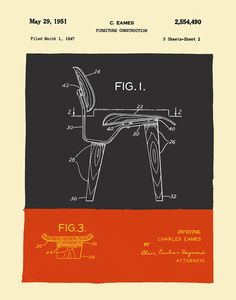 Mid Century Modern Eames Chair Drawings by michaelellisstudios Patio Chair Cushions, Diy Chair, Arm Chairs, Eames Furniture, Furniture Plans, Industrial Office Chairs, Chair Drawing, Mid Century Modern Armchair, Charles & Ray Eames