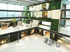 McDonough   Partners' Bosch Siemens Showroom Boasts a 4-Story Living Atrium | Inhabitat - Sustainable Design Innovation, Eco Architecture, Green Building