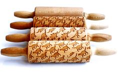 New Laser Engraved Rolling Pins by Valek Imprint Elaborate Designs on Baked Goods | Colossal