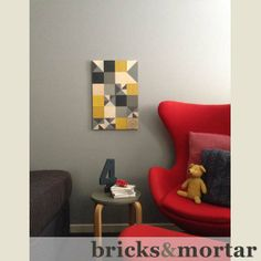 This week's blog post... Quarter Acre Block 'Lemon Zest' Check out our bricks&mortar blog posts and products at www.macarthurandco.com