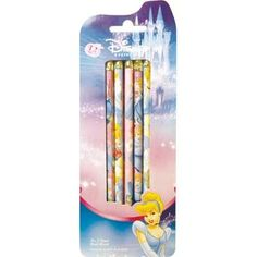 Cinderella Pencils 12ct by TRI COASTAL DESIGN. $2.95. Bibbidi, bobbidi boo! Write all about your enchanted adventures with a Cinderella pencil. Each package includes 12 pencils featuring Cinderella and Prince Charming. Pencils feature number 2 lead.WARNING: CHOKING HAZARD - Small parts. Not for children under 3 years.