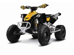 New 2014 Can-Am DS 450™ X xc ATVs For Sale in Ohio. 2014 CAN-AM DS 450™ X xc, DS 450 X xc Our tight-woods racing sport quad with an all-aluminum frame and an array of features that include ITP Holeshot GNCC tires, ITP beadlock wheels, aluminum nerf bars, and aluminum skid plate. And the aluminum front bumper is ready for your number plate. Because you need to remind people whos the rider on the machine thats blowing everyone away. Highlights - DS 450 X xc: Rotax 4-TEC 450, liquid-cooled…