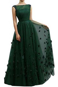 Angel Bride 2015 Stylish A-Line Bateau Floor Length Tulle Prom Dresses Long- US Size 2 Angel Bride http://www.amazon.com/dp/B00QTH6UQG/ref=cm_sw_r_pi_dp_kdauvb15YCBNC