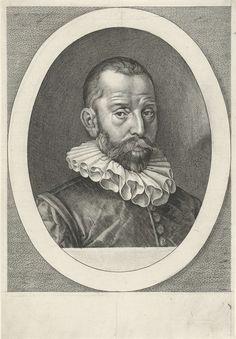 Jan Harmensz. Muller   Portret van Everard van Reyd, Jan Harmensz. Muller, 1602 - 1604   Portret van Everard van Reyd, raadgever van Willem van Oranje.