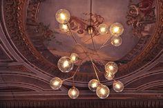 Bubble lamp en Wunderhouse, Madrid Ceiling Lamp, Ceiling Lights, Bubbles, Chandelier, Madrid, Lamps, Home Decor, Lightbulbs, Candelabra