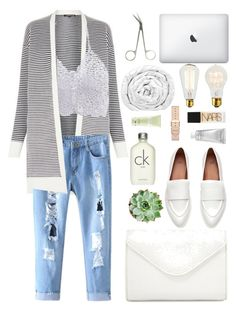 """""""moving in"""" by charli-oakeby ❤ liked on Polyvore featuring Warehouse, Neiman Marcus, Calvin Klein, Brinkhaus, Carven, African Botanics, NARS Cosmetics, contest, contestentry and cutecardigan"""