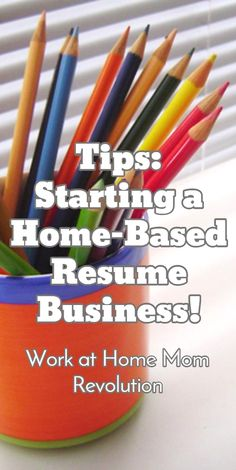How To Start A Resume Writing Business Workathome Start A Resume Writing Home Business  Home Business .