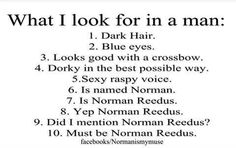 Yep...Norman Reedus!!!