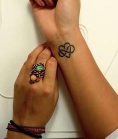 Heart/Infinity tattoo