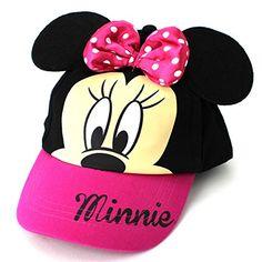 Minnie Mouse Girls Baseball Cap Hat (Pink) Disney http://www.amazon.com/dp/B00RC0T1J2/ref=cm_sw_r_pi_dp_XnwWub0CVPBFP