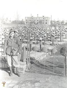 Cimitero di soldati italiani sul fronte russo
