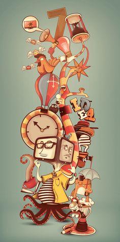 Illustration by Renam Penante, via Behance