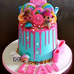Awesome Picture of Special Birthday Cakes Special Birthday Cakes A Beautiful Colorful Lol Surprise Doll Birthday Cake For A Special Birthday Cake Hd, Birthday Cakes Girls Kids, Happy Birthday Cake Pictures, Special Birthday Cakes, Colorful Birthday Cake, Birthday Gifts, 5th Birthday, Birthday Ideas, Lol Doll Cake