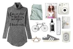 """A"" by louise-w-pedersem on Polyvore featuring H&M, Diptyque, adidas, Lauren Ralph Lauren, women's clothing, women's fashion, women, female, woman and misses"