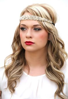 You can't go wrong with these beautiful velvet back bling headbands! Each are handmade with exquisite detail......simply beautiful! Wear them with your favorite casuals or with your favorite little pa
