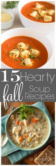 Hearty Fall Soup Recipes to warm your belly. These soups are perfect to create that hygge vibe, and for staying cozy on those chilly fall and winter nights.