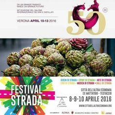 Ecco gli eventi dove #birradamare sarà presente questo fine settimana, che non ve la fate 'na biretta!!!!Da Venerdì 8 a domenica 10 saremo al FESTIVAL DI STRADA a Testaccio presso il #CAE e a LADISPOLI alla 65° sagra del carciofo romanesco.Da domenica 10 a mercoledì 13 a VERONA al VINITALY 2016#festivaldistrada #sagradelcarciofo #vinitaly