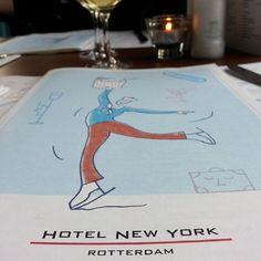 #menu #dinner #hotel #new #york #rotterdam Photo: @plej92