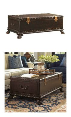 Trunk coffee table.