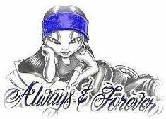 Always and forever Chicano Art Tattoos, Chicano Drawings, Couple Drawings, Love Drawings, Chicano Love, Chicano Rap, Cholo Art, Latino Art, Lowrider Art