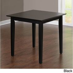 $88 - 29.5 inches high x 29.5 inches wide x 29.5 inches deep  Simple Living Udine Cafe Breakfast Table