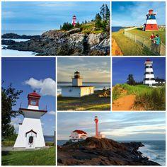 Classic Maritime Lighthouses in New Brunswick, Nova Scotia and Prince Edward Island Ferry Boat, Aboriginal People, Unique Settings, Prince Edward Island, Largest Countries, New Brunswick, 15th Century, Nova Scotia, Continents