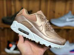 promo code db5b1 b8f8b Womens Nike Air Max 90 Premium Metallic Red Bronze 896497-902-5