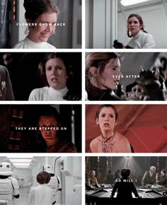 Princess Leia Organa. Bold. Strong… her mother's blood flows through her.  #starwars