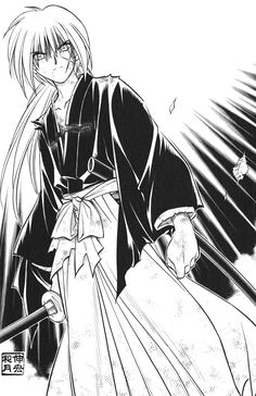 Rurouni Kenshin - the best fully traditionally inked manga ever!!
