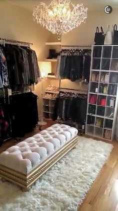 Custom Closet DIY: How To And Plans For Dressing Room Closet. 40 Fabulous Closet Designs And Dressing Room Ideas . Home and Family Spare Bedroom Closets, Dream Closets, Master Closet, Master Suite, Spare Room Walk In Closet, Closet Bench, Bedroom Turned Closet, Closet Racks, Walk In Closet Small
