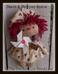 *RAGGEDY ANN ~ The Craftaholic Creations
