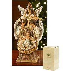"""Angels at Manger Figure 9"""""""