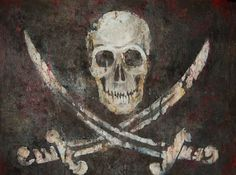 Bloody Jolly Roger - Pirates Life for Me Pirate Art, Pirate Skull, Pirate Life, Pirate Flags, Pirate Crafts, Pirate Ships, Golden Age Of Piracy, Pirate Tattoo, Pirates Cove