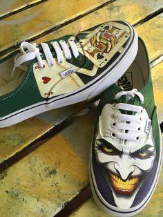 Joker custom Vans!