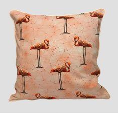 Cushion Cover Flamingos - Shop this and other beautiful cushion covers at our online shop! Cushion Covers Online, Handmade Cushion Covers, Cushions, Throw Pillows, Shop, Beautiful, Cushion, Decorative Pillows, Pillows