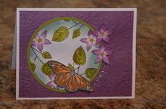 God's Beauty in Purple by mayodino - Cards and Paper Crafts at Splitcoaststampers